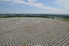 Moerenumapark Japan stock afbeelding