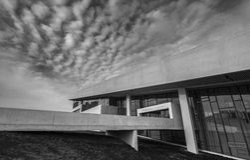 Moesgaard博物馆丹麦奥尔胡斯外部大门 库存照片