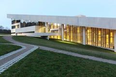 Moesgaard museum i Danmark Arkivbilder