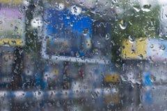 Moesson abstract beeld stock fotografie