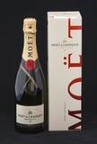 Moet & Chandon Champagne Brut impériale photo stock