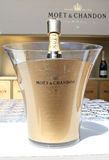 Moet and Chandon champagne presented at the National Tennis Center during US Open 2014 Stock Image