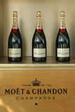 Moet and Chandon champagne presented at the National Tennis Center during US Open 2016 Royalty Free Stock Photos