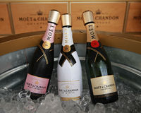 Moet and Chandon champagne presented at the National Tennis Center during US Open 2016 Stock Photo