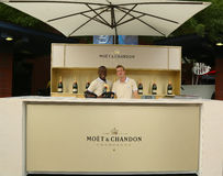 Moet and Chandon Terrace at the National Tennis Center during US Open 2013 Stock Photography
