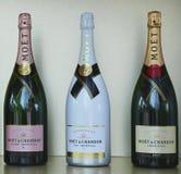 Moet en Chandon-champagne op het Nationale Tenniscentrum tijdens US Open 2016 wordt voorgesteld die Royalty-vrije Stock Afbeeldingen