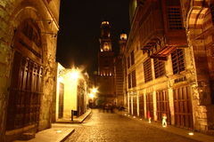 Moez Street, at night Royalty Free Stock Photo