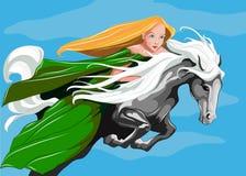 Mof de princesse le ciel Photographie stock libre de droits