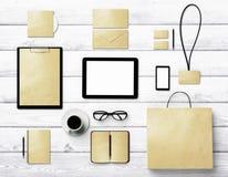 Mofa de la identidad de marcado en caliente para arriba para los diseñadores gráficos Fotografía de archivo libre de regalías