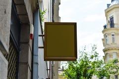 mofa del letrero para arriba Letrero del espacio en blanco de la foto mensaje o publicidad fotografía de archivo libre de regalías