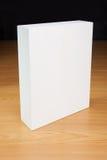 Mofa en blanco de la caja blanca para arriba Fotografía de archivo libre de regalías