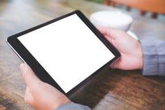 Mofa encima de la imagen de la tableta Fotografía de archivo