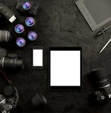 Mofa encima de la plantilla del negocio Imagen de archivo libre de regalías