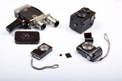 Mofa encima de objetos Foto de archivo