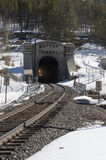 Moffat Tunnel In Winter Park, Colorado Royalty Free Stock Photo