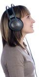 hełmofon kobieta Obraz Stock