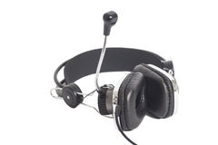 hełmofony mic Fotografia Stock