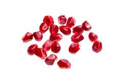 mogą się blisko cholesterolu nasion granatowa jeden strzał superfoods niższe makro Fotografia Royalty Free
