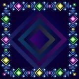 mogą zmontować ramowego kształtów zdjęć wektor po prostu kolory dekoracyjni ty Zdjęcia Stock
