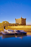 Mogador fortress building at Essaouira, Morocco Stock Images