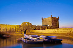 Mogador fortress building at Essaouira, Morocco Stock Photography