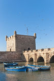 Mogador fortress building at Essaouira, Morocco Stock Photo