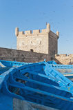 Mogador fortress building at Essaouira, Morocco Stock Photo