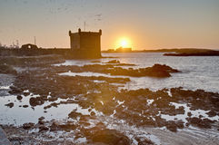 Mogador fortress building at Essaouira, Morocco Royalty Free Stock Photography