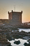 Mogador fortress building at Essaouira, Morocco Stock Image