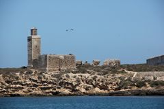 Mogador wyspa Fotografia Stock