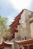 Mogao Caves in Dunhuang, China Royalty Free Stock Photography