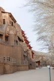 Mogao Caves, grottoes in Gansu, China. Mogao Caves, largest grottoes in Gansu, China Stock Photography