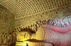 Mogao Caves In Dunhuang, China Stock Photo