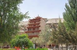 Mogao frana Dunhuang, Cina Fotografia Stock