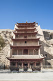 Mogao Grottoes, Dunhuang, Gansu of China Stock Image