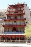 Mogao Zawala się, Dunhuang zdjęcia royalty free