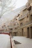 Mogao Zawala się, groty w Gansu, Chiny zdjęcie stock