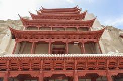 Mogao zawala się w Dunhuang, Chiny Zdjęcie Stock