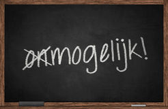 Mogelijk Royalty Free Stock Photo