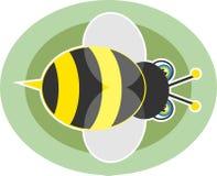 Mogeln Sie Biene durch Stockbild