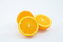 Mogen apelsin arkivbilder
