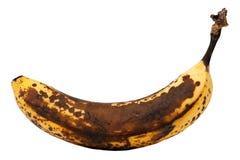 Mogen banan Arkivfoton