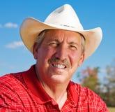 mogen cowboy royaltyfri foto