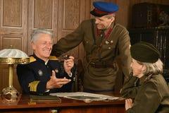 Mogen general för militär Arkivbilder