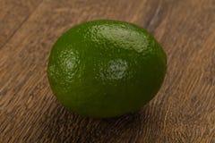 mogen grön limefrukt arkivfoto