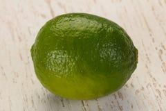 mogen grön limefrukt arkivbilder