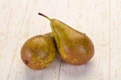 mogen grön pear arkivfoton