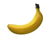 Mogen gul banan - vektorkonst Royaltyfri Fotografi