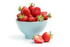 mogen jordgubbe arkivbilder