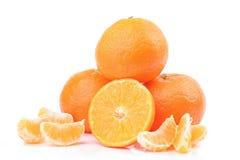 mogen mandarine Royaltyfria Bilder